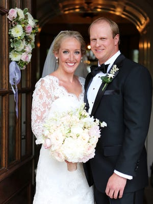 Caroline Johnson and Greg Sirko married at Cathedral of the Incarnation.