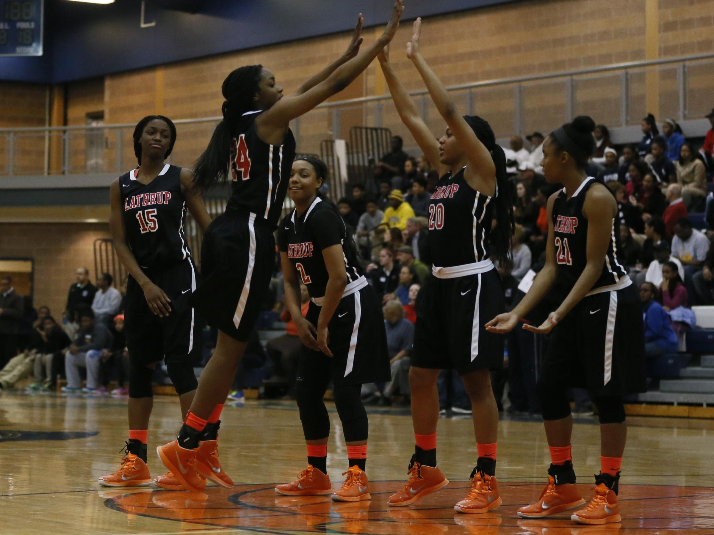 Southfield-Lathrup, led by senior Antoinette Miller and junior Deja Church, can run, jump, defend and kill defenses with its incredible skills.