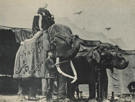 Tusko was the main attraction with the Al G. Barnes