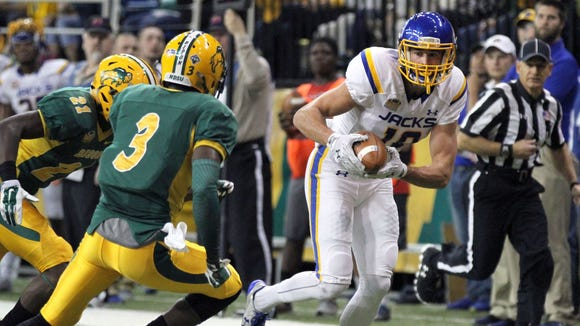 Jake Wieneke and SDSU will challenge NDSU for Valley