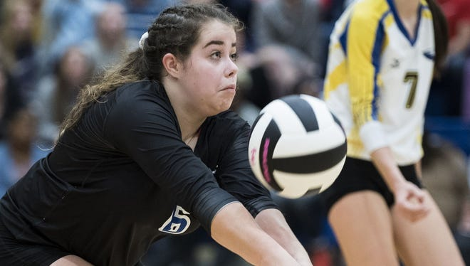 Eastside's Katherine McClure was named to the Class AAAA volleyball all-state team.