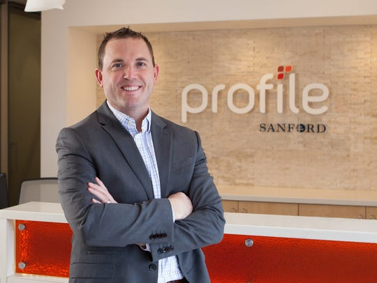 Nate Malloy, CEO of the Profile by Sanford weight-loss program, based in Sioux Falls.