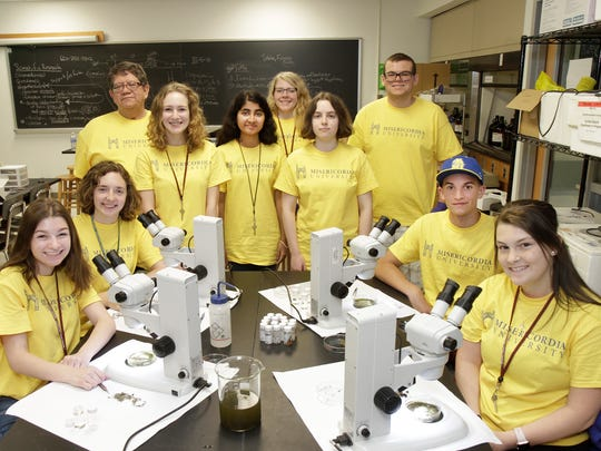 Misericordia University hosted the Biology Career Exploration