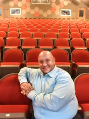 Artistic Director Greg Liosi inside the Hackensack