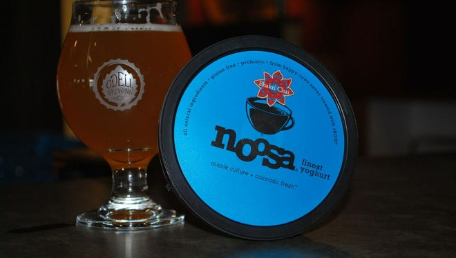 Noosa Yoghurt and Odell Brewing Co. recently collaborated on a yogurt beer.