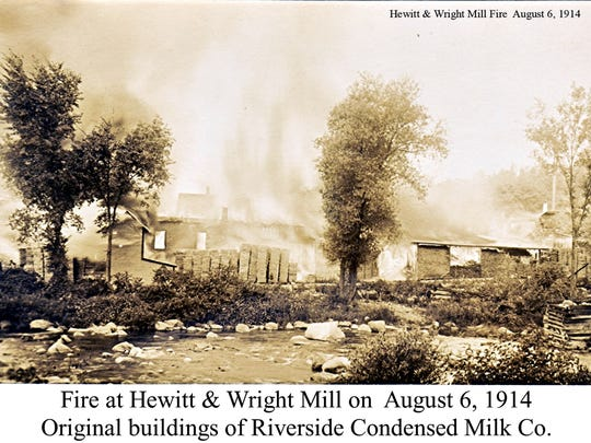 Fire at Hewitt and Wright mill.jpg