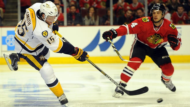 Predators forward Craig Smith had been playing on a two-year, $4 million contract.