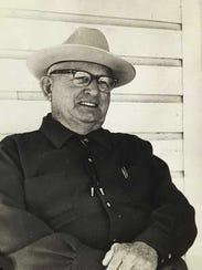 Buck Hendry in the 1980s.