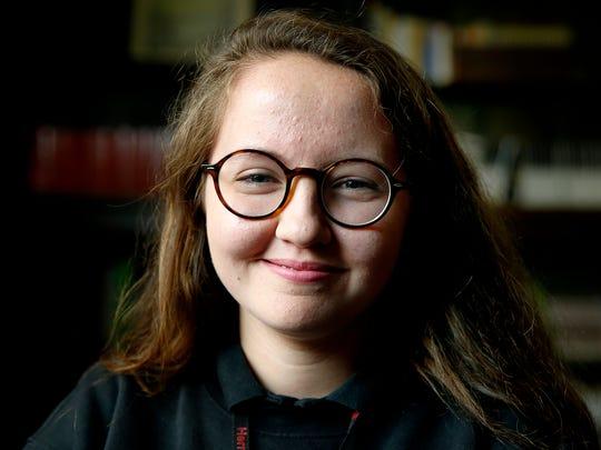 Herron High School student Michelle Marshall