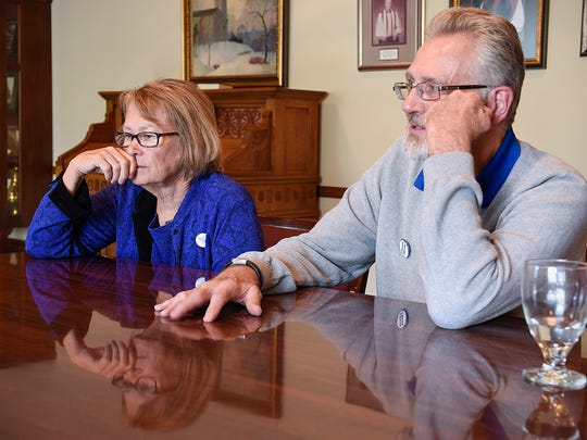 Patty and Jerry Wetterling spoke for the first time Tuesday, Oct. 11, after Danny Heinrich pleaded guilty to killing their son 27 years ago. The Wetterling's met with media at St. Mark's Episcopal Cathedral in Minneapolis.