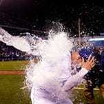 Alex Gordon and the Kansas City Royals are having their share of fun this season.