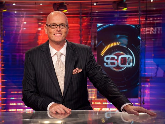 ESPN SportsCenter host Scott Van Pelt.