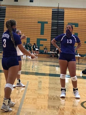 The Bronson volleyball team went 1-2 on Thursday, but at least they were able to play. A lengthy drive north to Traverse City was the right move for Bronson.