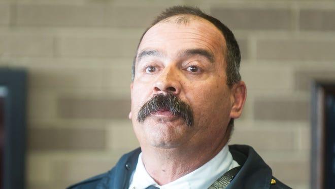 Vineland Fire Chief Robert Pagnini.