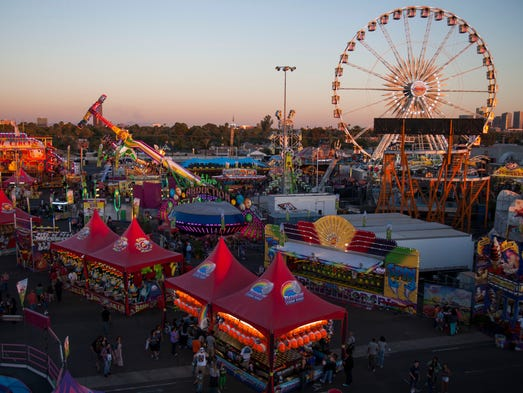 The Arizona State Fair runs from Oct. 10-Nov. 2. at the State Fairgrounds, 19th Avenue and McDowell Road, Phoenix. $5-$10; free for age 5 or younger. 602-252-6771, azstatefair.com.