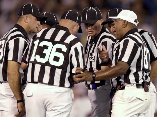 The new targeting rule will put even more pressure on NFL officials this season.