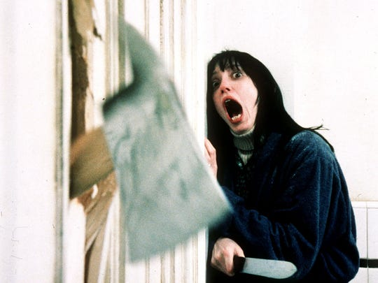Shelley Duvall in a frightful sequence from 'The Shining.'