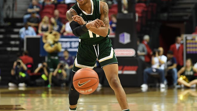 Prentiss Nixon, shown in a Mountain West tournament game last season, scored 22 points for the CSU men's basketball team Sunday in a 90-73 loss to Florida State in the Jamaica Classic in Montego Bay, Jamaica.