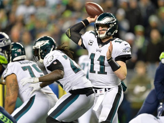 USP NFL: PHILADELPHIA EAGLES AT SEATTLE SEAHAWKS S FBN SEA PHI USA WA