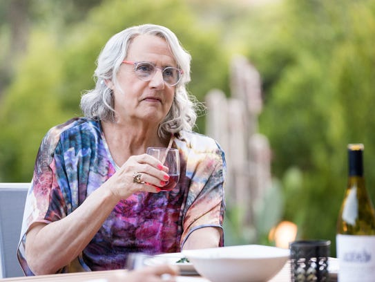 Jeffrey Tambor as Maura Pfefferman on 'Transparent.'