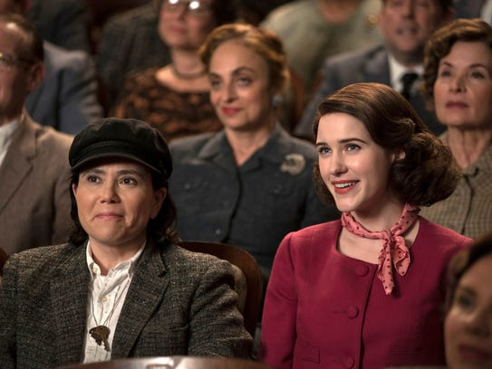 """""""The Marvelous Mrs. Maisel"""" is nominated for a Golden"""
