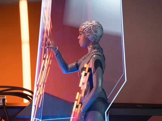 """Janelle Monae plays an android on an episode of """"Phillip"""