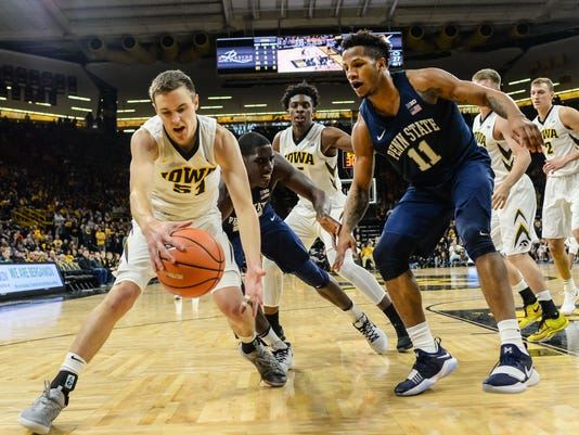 NCAA Basketball: Penn State at Iowa
