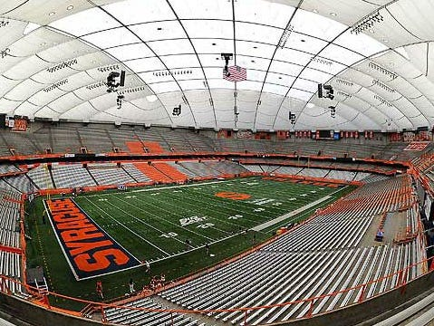 Carrier Dome at Syracuse University.