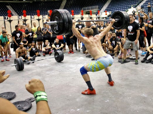 Scenes from Fit Nation Thunderdome over the weekend, June 21-22, at Germain Arena in Estero.