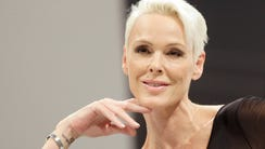 Brigitte Nielsen, here in a 2010 photo, just welcomed
