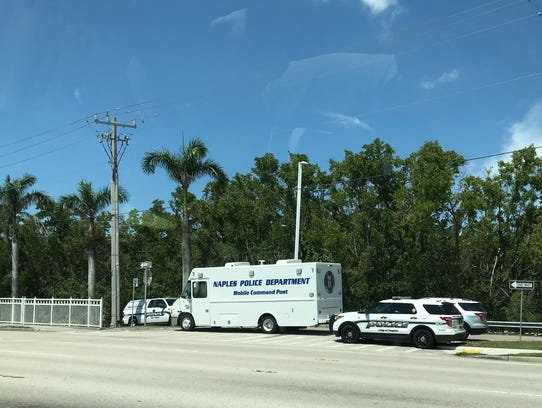 Authorities are investigating the discovery of human