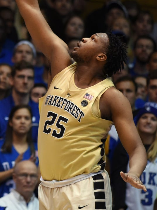 NCAA Basketball: Wake Forest at Duke