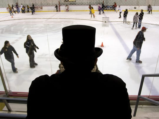 Mediacom Ice Park will host an evening skating session