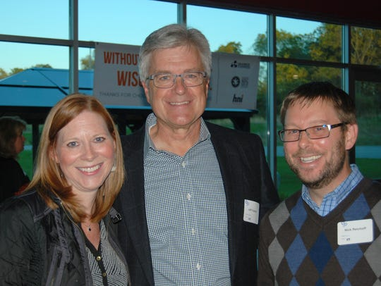 Mukwonago Education Foundation attendees (from left),