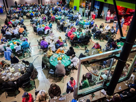 More than 500 people attended Hillcroft's Thanksgiving