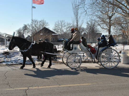 Horse-drawn carriage rides will be part of the fun