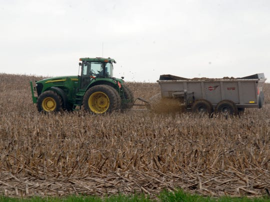 With snow melting and rain falling on frozen soil, farmers should check DATCP's online Wisconsin Runoff Risk Advisory Forecast to determine the risk of manure runoff.