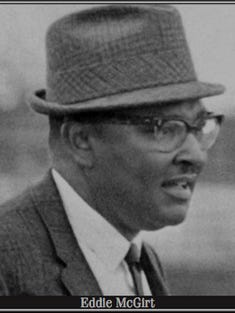 Eddie McGirt coached at Mather Academy after college, but in 1958 was named head football coach at Johnson C. Smith.