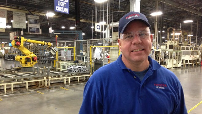 Shawn Daly is the general manager plant manager at Toyota Bodine Aluminum Tennessee in Jackson.