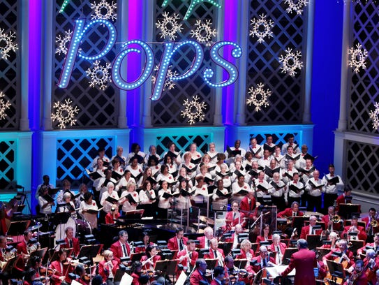"""The Pops' holiday concerts, led by """"Mr. Christmas"""""""