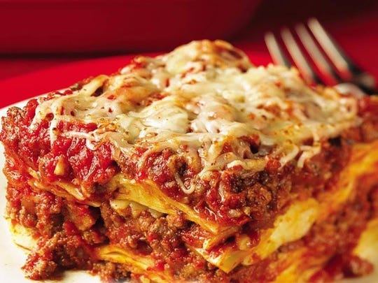 Lasagna is one of the most popular items made by The Sauce Lady in Naples.