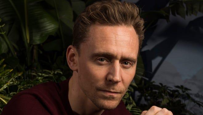 Tom Hiddleston, star of 'Kong: Skull Island.'