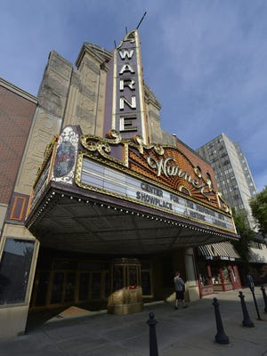 Two firms have been selected to restore the Warner Theatre's iconic State Street marquee and make repairs to the theater's facade.