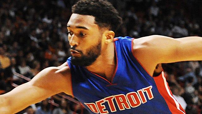 Detroit Pistons guard/forward Darrun Hilliard.