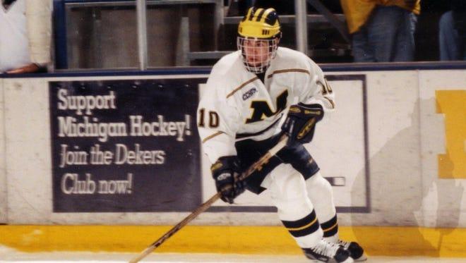 Former Michigan hockey player Scott Matzka died after a battle with ALS.