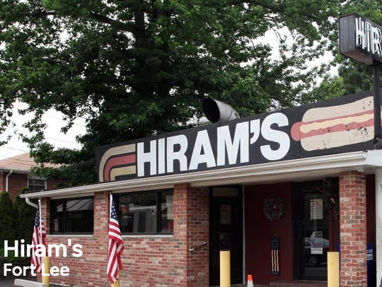 Outside of Hiram's in Fort Lee, NJ.