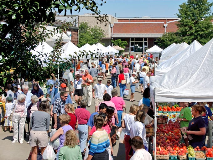 In Alabama, The Market at Pepper Place meets in Birmingham's