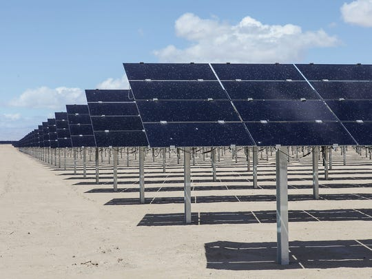The Tenaska Imperial Solar Energy Center West near