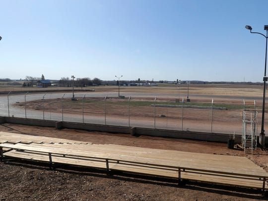 The new oval track at Gravity Park in Chilton will