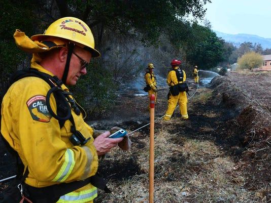 Thomas Fire Southern California